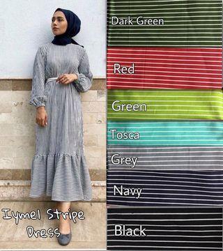Iymel Stripe Dress Last to clear (Sale)