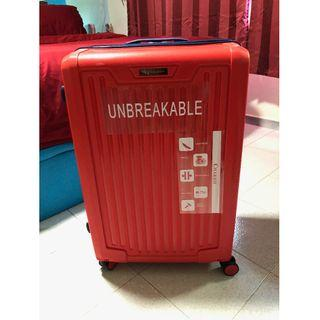 """Brand New Chariot Cherry Red 28"""" Luggage"""