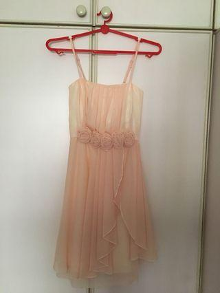Champagne Dress (for bridesmaid/wedding/dinner/d&d)