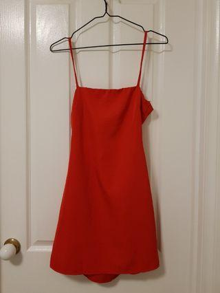 Cute Red party mini dress size 6