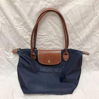 降價🔥二手 Longchamp M 長柄 深藍
