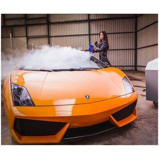 BLAST MOBILE STEAM CAR WASH WE COME TO YOU