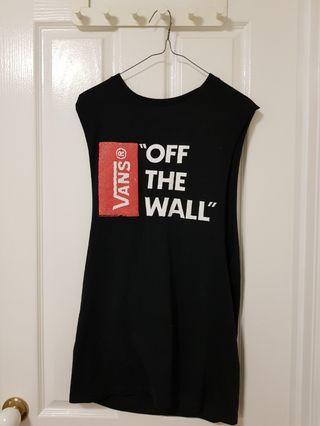 Vans Off the wall black muscle tee