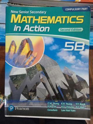 NSS Mathematics in action 5B (2nd Edition)