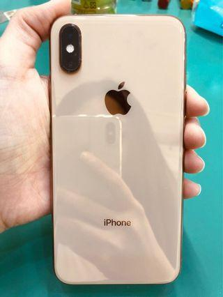 🚚 Apple iPhone XS 64GB 金 二手機(保固內)