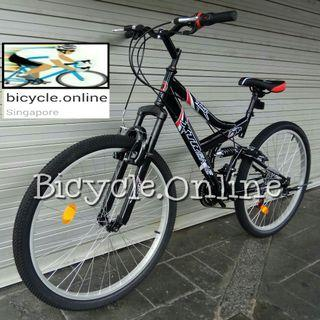 "26"" 18Speeds Xtreme Full Suspension Mountain Bike. Brand new bicycle."