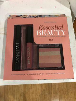Essential Beauty blush and lip set