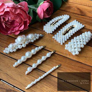 Pearl Hairclip | Ready Stock
