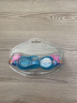 全新peggy pig 泳鏡