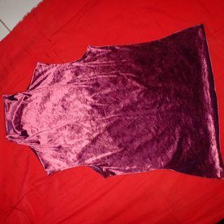 Atasan velvet