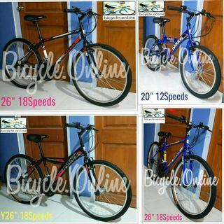 Harris Mountain Bikes $129 - $139 * Brand new bicycles