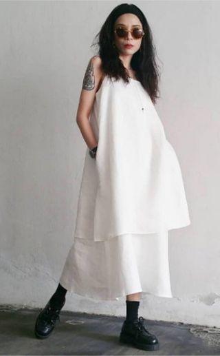 Nanaroom Premium Linen Dress