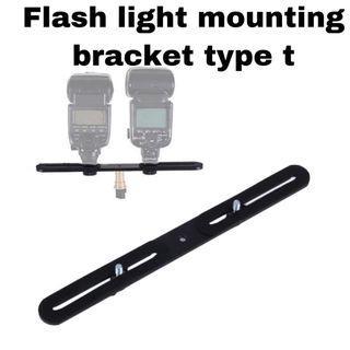 flash light mounting bracket type t (best price)
