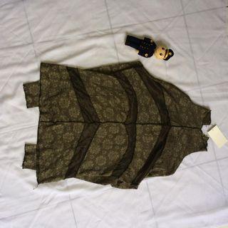#BAPAU baju atasan, Turtleneck