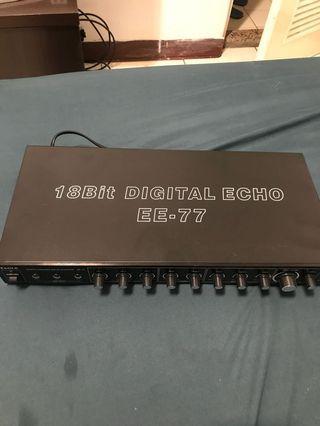 🚚 卡拉Ok迴聲器EE-77
