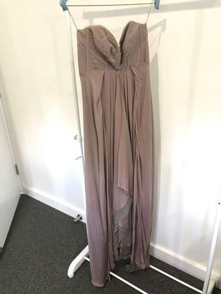 Aurelio Costarella silk formal maxi dress