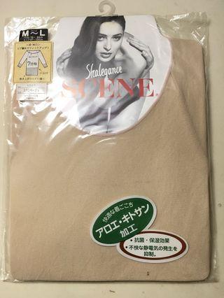 🚚 日本製七分袖保暖衛生衣