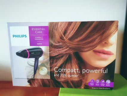 🚚 Philips Hair Dryer BHD002 -new