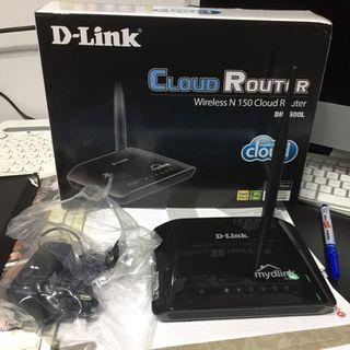 🚚 D-Link Wireless N150 Cloud Router