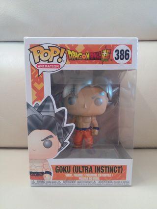 Funko Pop 正版龍珠銀髮悟空Goku 386