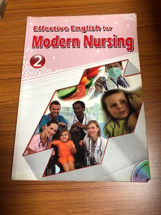 🚚 Effective English for Modern Nursing 2 長庚 護理系 英文課本 二手