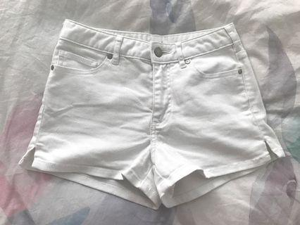 Seed Heritage white denim shorts 6