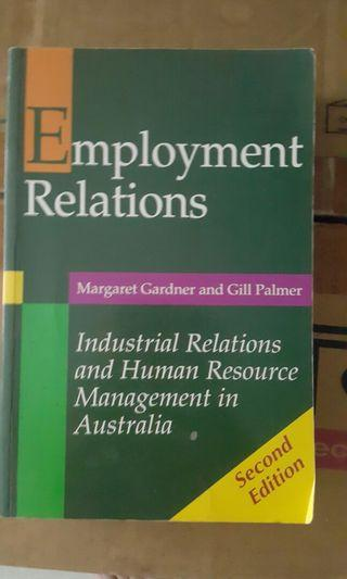 Employment relations - industrial relations and human resource management in Australia