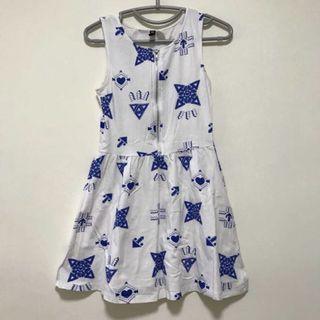 🚚 H&M's white/blue dress