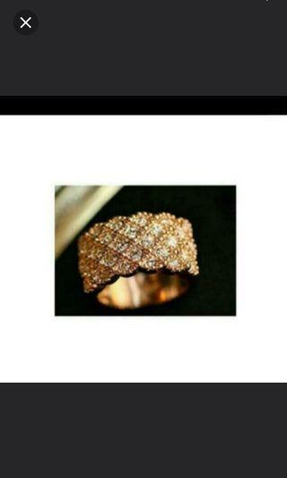 BRAND NEW Diamond Ring (size 17)