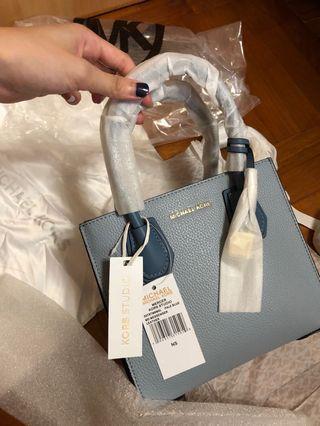 Michael Kors mercer crossbody handbag shoulder bag tri colour multi 袋