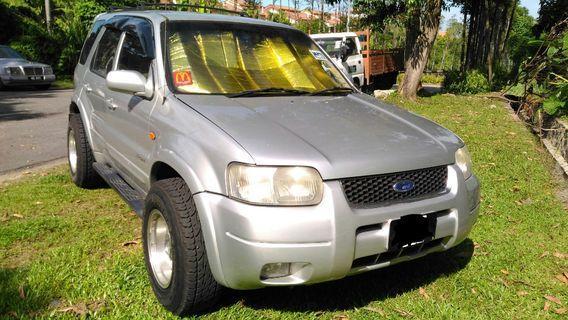 Ford Escape 2.0 Mit Airtrek Turbo engine