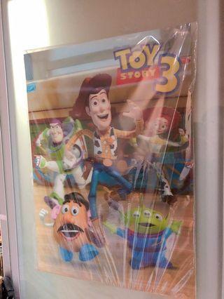 玩具總動員3大海報3D超大張