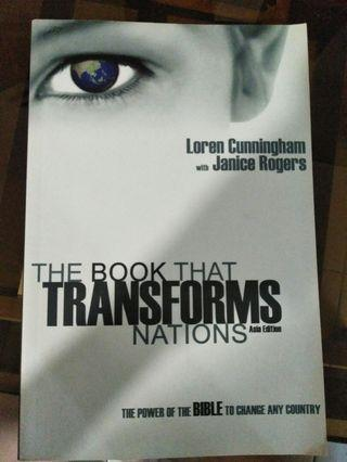 🚚 Book the transform nations by Loren cunningham