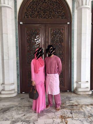 One piece modern kurung in pink 💕 #OYOHOTEL