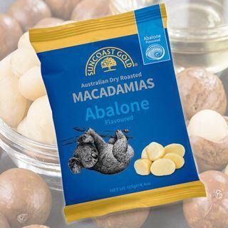 代訂 Suncoast Gold Abalone Flavoured Macadamias 澳洲鮑魚味夏威夷果仁 125g x 12包