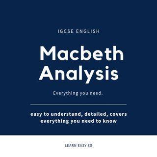 🚚 Macbeth: Full Analysis