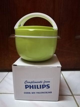PHILIPS Lunch Box Set (Green) +FREE SHIP #GayaRaya