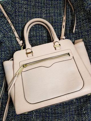 Rebecca Minkoff crossbody handbag tote bag (pink) 手袋