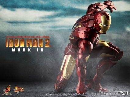 Hot Toys Iron Man Mark 4 MMS123 Tony Stark not Avengers endgame infinity war predator