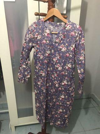 Baju Kurung Cotton size s