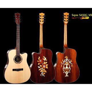 Sqoe S450C Electro Acoustic Guitar 電木結他 (12/5/2019)