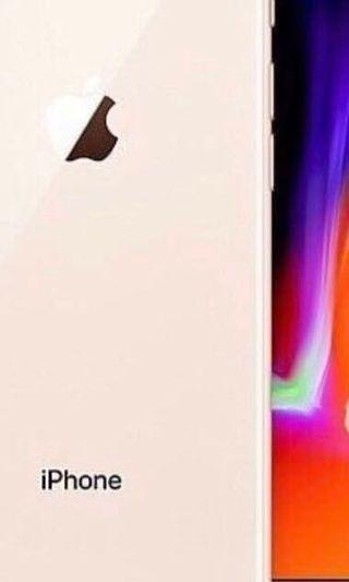 NEW IPHONE 8 - WHITE AND GOLD - 64G INCLUDING WARRANTY AND DELIVERY ETC