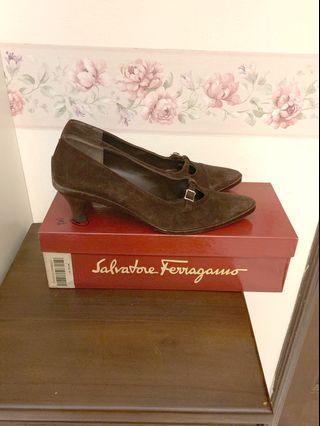 Ferragamo shoes, US 5 and EU 36
