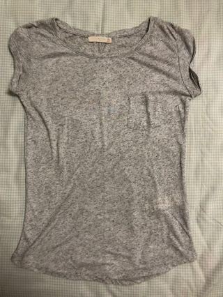 BERSHKA GREY SHIRT
