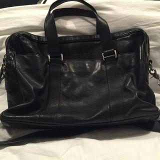 Pre-love Cole Haan Black Messenger Bag