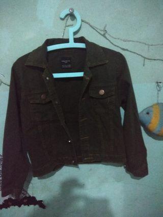 Croptee Jeans Jacket