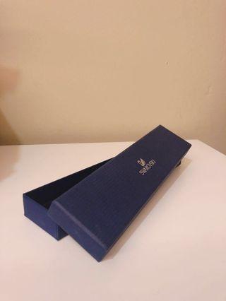 Authentic Swarovski bracelet box