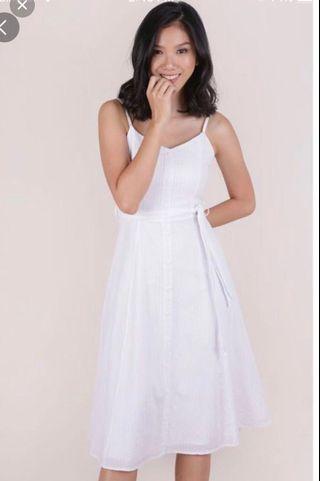 TTR Izzy V Neck Midi Dress