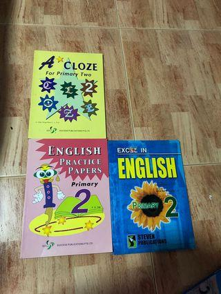 🚚 P2 English practice book each $4