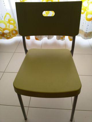 IKEA Herman Chairs in Green